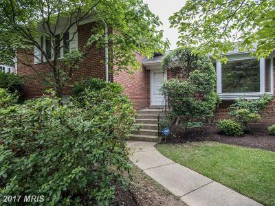 Bethesda Single Family Home For Sale: 4517 Traymore Street