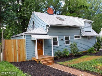 Silver Spring Single Family Home For Sale: 2233 Luzerne Avenue