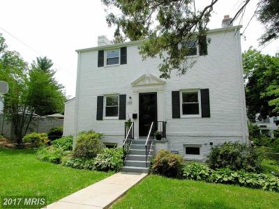 Chevy Chase Single Family Home For Sale: 8502 Grubb Road