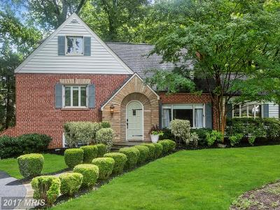 Rockville Single Family Home For Sale: 4412 Norbeck Road