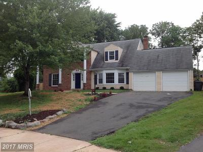 Manassas Single Family Home For Sale: 9253 Stonewall Court