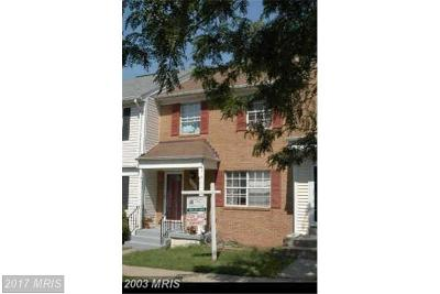 Manassas Townhouse For Sale: 9040 Whispering Pine Court