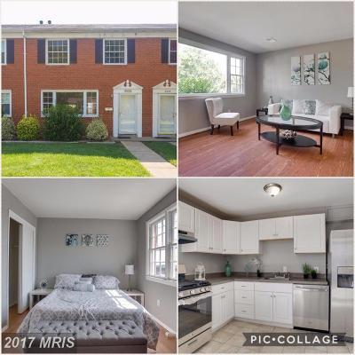 Manassas Single Family Home For Sale: 8933 Portner Avenue #8933