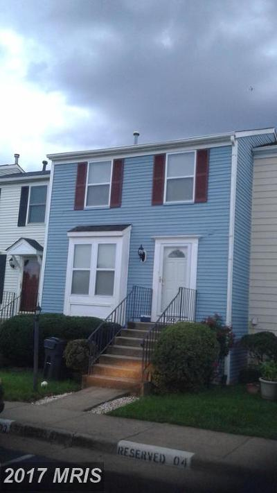 Manassas Townhouse For Sale: 9005 New Britain Circle