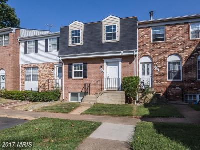 Manassas Townhouse For Sale: 8389 Oakgrove Court