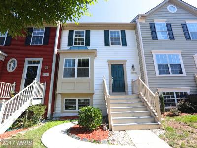 Manassas Townhouse For Sale: 9295 Veridan Drive