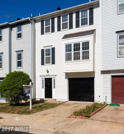 Manassas Townhouse For Sale: 8488 Saddle Court