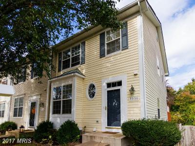 Manassas Townhouse For Sale: 9336 China Grove Court