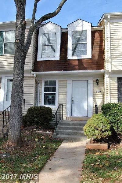 Manassas Townhouse For Sale: 8309 Felsted Lane