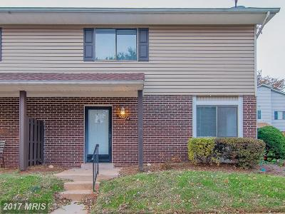 Manassas Townhouse For Sale: 9002 Sandalwood Drive #A
