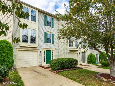 Manassas Townhouse For Sale: 9140 Verbena Court