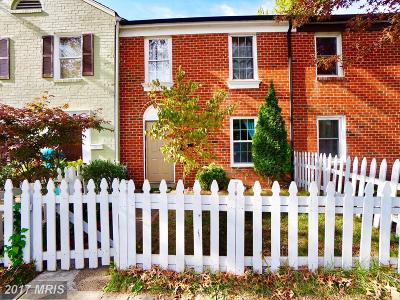 Manassas Townhouse For Sale: 9766 Bragg Lane