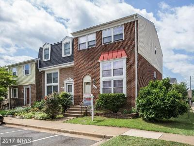Manassas Townhouse For Sale: 8339 Shady Grove Circle