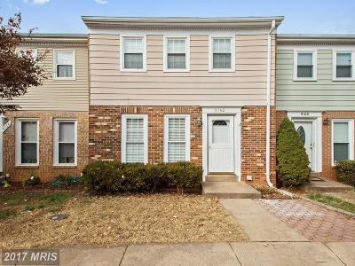 Manassas Townhouse For Sale: 9162 Laurelwood Court