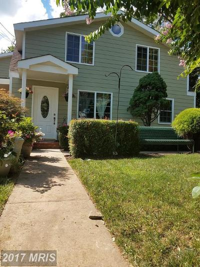 Manassas Park Single Family Home For Sale: 105 Yost Street