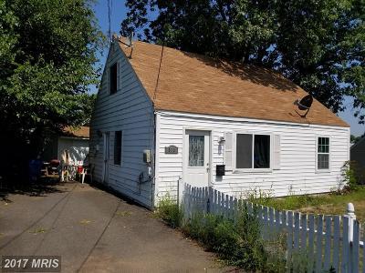 Manassas Single Family Home For Sale: 310 Manassas Drive