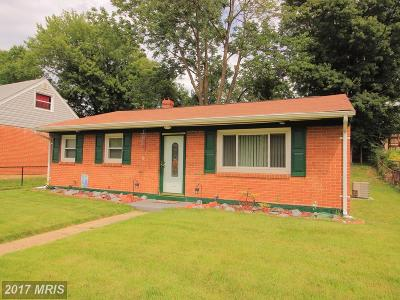 Manassas Single Family Home For Sale: 189 Martin Drive
