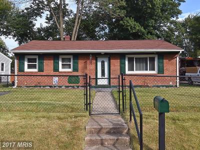 Manassas Park Single Family Home For Sale: 189 Martin Drive