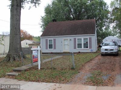 Manassas Single Family Home For Sale: 103 Forrest Street