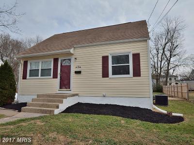 Manassas Single Family Home For Sale: 116 Alpine Street