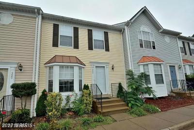 Manassas Park Townhouse For Sale: 322 Moseby Court