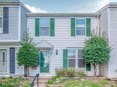 Manassas Park Townhouse For Sale: 9014 Saint Steven Court