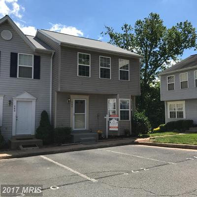 Manassas Park Townhouse For Sale: 362 Moseby Court