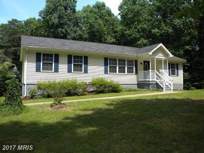 Rhoadesville Single Family Home For Sale: 28205 Beech Drive