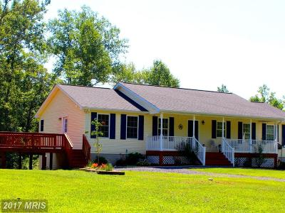 Culpeper Single Family Home For Sale: 6351 Browning Road