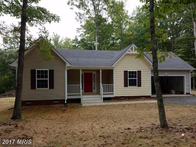 Orange Single Family Home For Sale: 18462 Mountain Track Rd