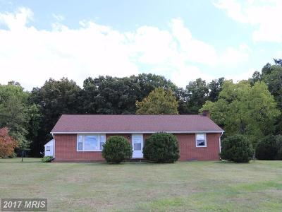 Orange Single Family Home For Sale: 19241 Brick Church Road