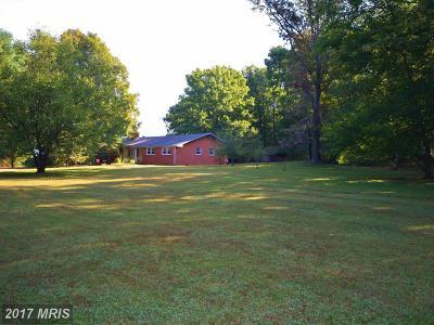 Orange Single Family Home For Sale: 2287 Spotswood Trail