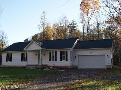 Stafford, Caroline, King George, Culpeper, Orange Single Family Home For Sale: 7328 Gold Dale