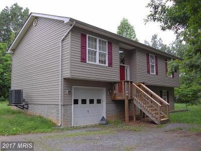 Rhoadesville Single Family Home For Sale: 25512 Pine Tree Road