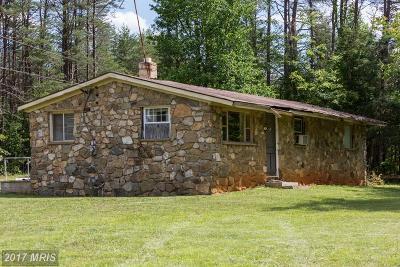 Rhoadesville Single Family Home For Sale: 5125 Burr Hill Road