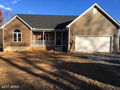 Rhoadesville Single Family Home For Sale: 6481 Burr Hill Rd
