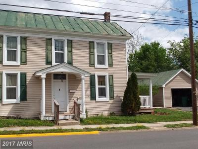 Luray Single Family Home For Sale: 122 Mechanic Street