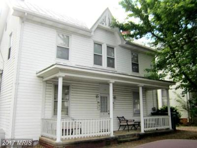 Luray Single Family Home For Sale: 14 Deford Avenue