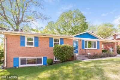 Temple Hills Single Family Home For Sale: 6505 Summerhill Road