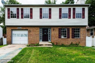 Bowie MD Single Family Home For Sale: $276,000