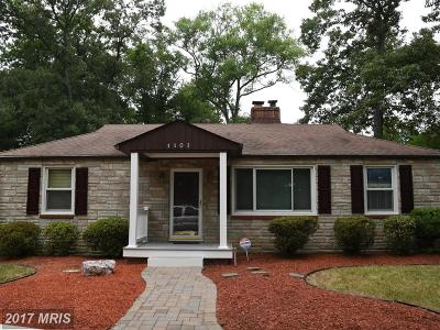 Accokeek Single Family Home For Sale: 1101 Pine Lane