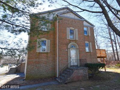 Laurel Townhouse For Sale: 14645 Cambridge Circle