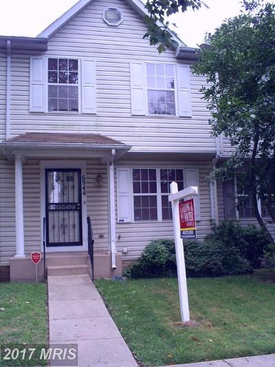 District Heights Townhouse For Sale: 6944 Blue Holly Court