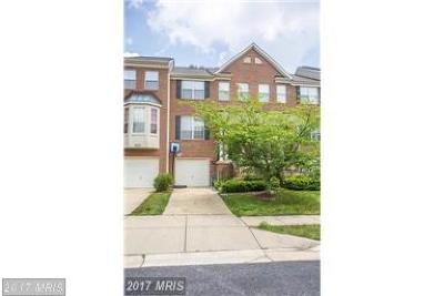 Upper Marlboro Townhouse For Sale: 1818 Whistling Duck Drive