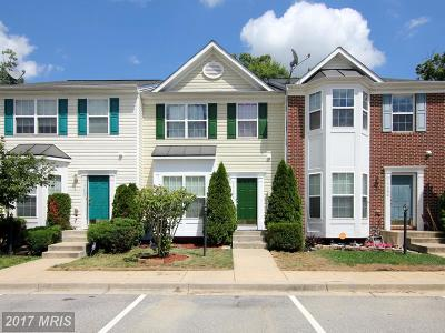 Brandywine Townhouse For Sale: 15404 Bennetts Run Court