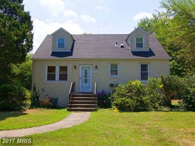 Temple Hills Single Family Home For Sale: 3209 Carlton Avenue