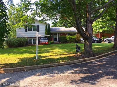 Oxon Hill Single Family Home For Sale: 21 Alexandria Drive