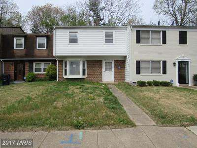 Upper Marlboro Townhouse For Sale: 8709 Binghampton Place
