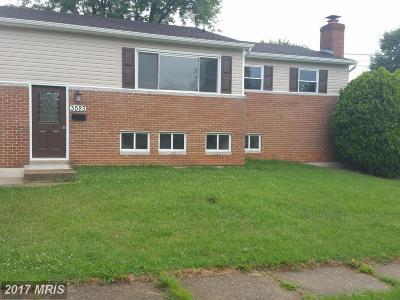 Upper Marlboro Single Family Home For Sale: 3523 Edwards Street