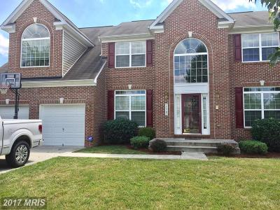 Upper Marlboro Single Family Home For Sale: 11503 Gloxinia Court
